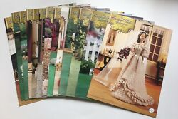 Annie's Calendar Bed Doll Society Southern Belle Collection, 13 Crochet Patterns