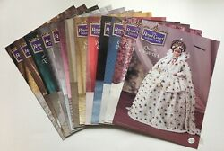Annie's Calendar Bed Doll Society, Royal Court Collection, 13 Crochet Patterns