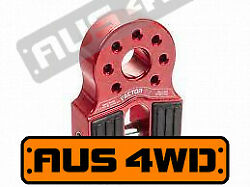 Factor 55 Flatlink Shackle Winch Recovery Hook - Red