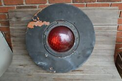 Vintage Union Switch And Signal Usands Railroad Signal Light