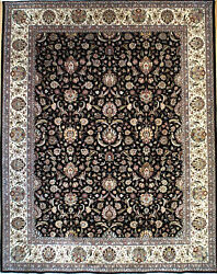 Hand-knotted Rug Carpet 8x10'3, Tabriz Mint Condition
