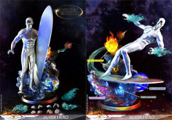 Add Toys Ad-05 Silver Surfer Silver Hero Deluxe Ver. 1/6 Action Figure Instock