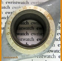 Genuine Rolex Gmt-master 1675 1675/3 1675/8 Faded Gold Brown Root Beer Insert
