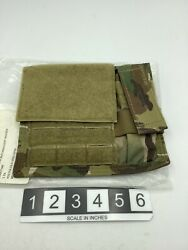 New Eagle Industries Multicam Admin Pouch W/ Flashlight Holder Soflcs - Molle