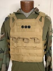 Crye Precision Jpc 1.0 Jumpable Plate Carrier Pc Large Coyote Seal Nsw Nwot