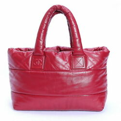 Cocococoon Large Tote Bag Razor Red Reversible Treasure Spot Second _2924