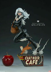Sideshow Exclusive Mark Brooks Black Cat 16 Inch Statue Artist Series New In Box