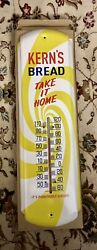 Kerns Bread - Take It Home Wall Thermometer - New In Box
