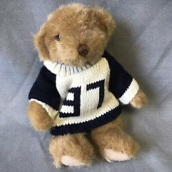 Russ Bears From The Past Collectible Display Teddy With Sweater