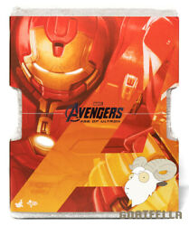 Ready New Authentic Hot Toys Avengers Age Ultron Ironman Hulkbuster Mms285 Ems