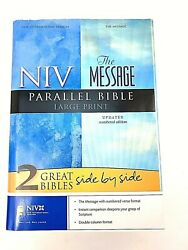 Niv/the Message® Parallel Bible New-large Print