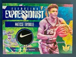 2019-20 Matisse Thybulle Court Kings Fledgling Expressionist Nike Tag 1/1 Rc