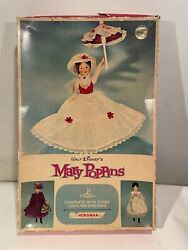 Vintage 1965 Horsman Walt Disney Mary Poppins Doll In Box Appears Complete 12andrdquo