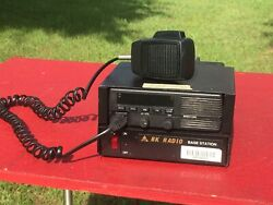 Bendix/king Emh5990a Vhf Mobile Radio With Mic And Duracomm Lp-25 Power Supply