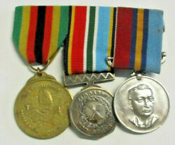 Medals To Constable Machingauta British South Africa Police. Rhodesia And Zimbabwe