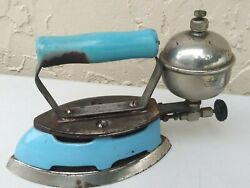Coleman Model 4a Gas Iron Vintage Made In Usa