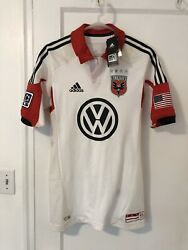2012 2013 Dc United Soccer Jersey Third Authentic Player Issue Mls Adidas Usa S