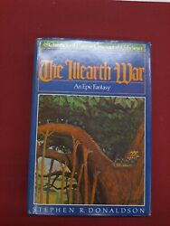 The Illearth War Bce, Signed By Stephen R. Donaldson 1977 Fantasy Autographed