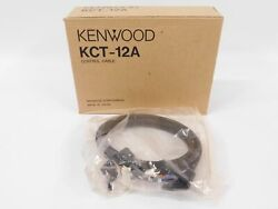 Kenwood Kct-12a Commercial Two-way Radio Control Cable New In Box