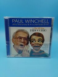 Paul Winchell Jerry Mahoney And Knucklehead All New Pinocchio Cd Brand New Rare