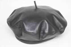 Christian Dior 2017aw Leather Beret Hunting Hat Razor 73drm910a700 B _16076