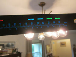 Pioneer Sx-636 Receiver Colored Dial Panel- Replacement Parts Repair