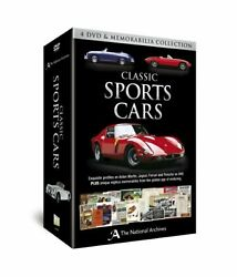 Classic Sports Cars 4 And Memorabilia Collection On Dvd With Not Available E07