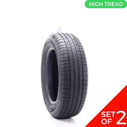 Set Of 2 Used 215/65r17 Michelin Energy Saver A/s 98t - 8-8.5/32