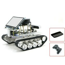 Tracked Vehicle Ros Car Robotic Car W/ Touch Screen Customized Radar For Jetson