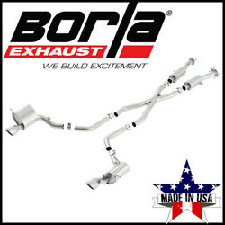 Borla S-type Cat-back Exhaust System Fits 2015-2021 Jeep Grand Cherokee 6.4l