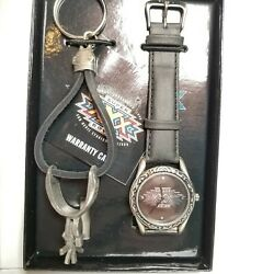 Super Bowl Xxx Limited Edition Fossil Watch And Keychain 132/750 W17