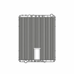 Fits A 2001-2010 Freightliner Condor Radiator Plastic And Aluminum With Frame