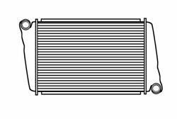 Fits A 1997-2005 Volvo Wx Series Charge Air Cooler
