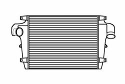 Fits A 1993-2000 Volvo Wg64 Series Charge Air Cooler