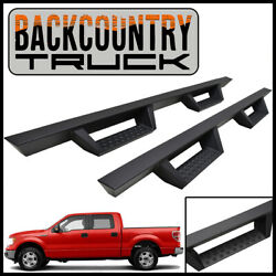 Backcountrytruck Drop Nerf Step Bars 2009-2014 Ford F-150 Supercrew Crew Cab