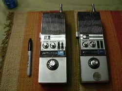 Midland Model 13-790 Cb 23 Ch Synthesized Transceiver One Pair Tested Vintage