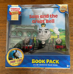 Fisher Price Thomas Train Sam And The Great Bell Book Pack New