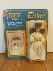 Vintage 1987 Bible Greats Esther Courageous Queen F-435 Action Figure New Sealed