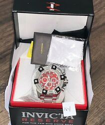 Reserve Grand Octane Arsenal Red Abalone High Polished 58mm Watch New