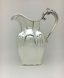 Metcalf Co Sterling Silver Water Pitcher New York Yacht Club Andldquothe Cruiseandrdquo Trophy