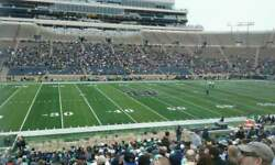 4 Notre Dame V. Usc Tickets Oct.23 Lower Level Mid-field