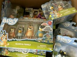 Bluey Assorted Figurines And Collectibles
