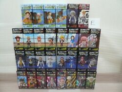 One Piece World Collectible Figure Luffy, Law, Zorro 30 Sets