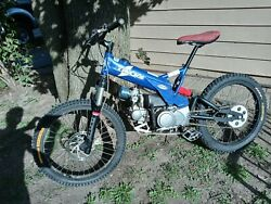 Pitbike Scorpa 4 Tricks. Bmx Dirt Bike Limited Edition Trials Motorcycle
