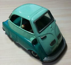 Former Bandai Bmw Isetta Tin Made In Japan 1960s antique