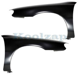 97-03 Chevy Malibu And 97-99 Cutlass Front Fender Primed Steel Left Right Set Pair