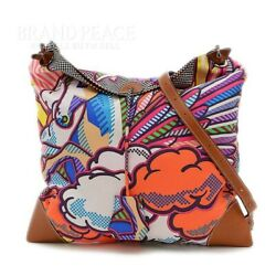 Hermes Silky City Pm Shoulder Bag Pegasus Pop Silk With Pouch T-engraved _17135