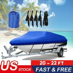 Boat Cover 21 Foot Boat 20 22 Large Pro Indoor Outdoor Storage Winter Ski Bass