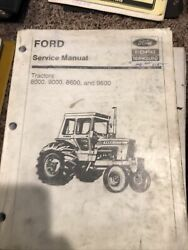 Ford 8000 8600 9000 9600 Tractor Service Shop Manual
