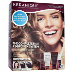Keranique The Complete Hair Regrowth System 4 Pc Set Exp 1/2023 Sealed Box
